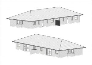 Arkitekttegnede typehuse
